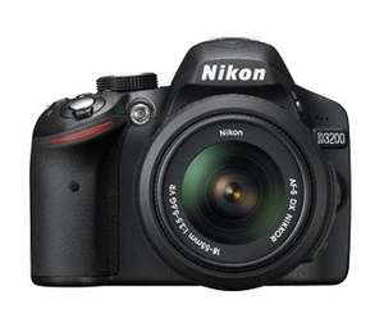 [METRO bundesweit] Nikon D3200 Spiegelreflexkamera + Nikkor Objektiv 18-55 mm VRII