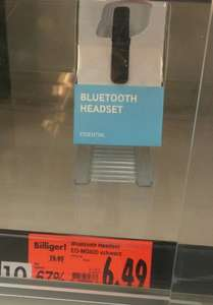 [Lokal Solingen] Samsung Mono Bluetooth Headset EO-MG920 schwarz