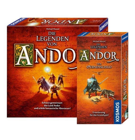 [Galeria Kaufhof Filiale] Die Legenden von Andor inklusive Erweiterung Der Sternenschild