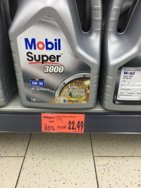 [lokal? Kaufland Nürnberg] Mobil Super 3000 XE 5W-30 5 Liter