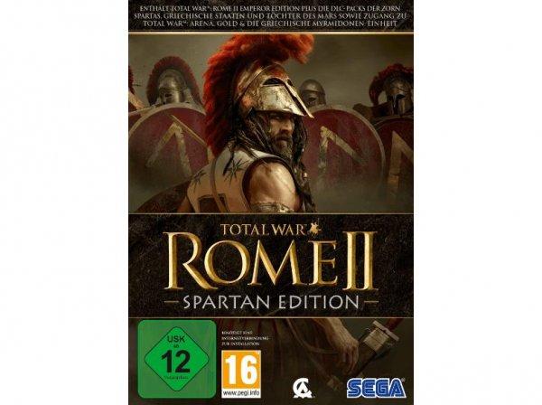 Total War: Rome 2 - Spartan Edition - PC nur 12,99€ (PVG ab 26,40€)