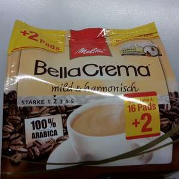 Melitta BellaCrema Pads 16 + 2 (Metro lokal Krefeld)