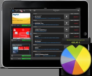 Finanzblick Banking App für iPad  und iPhone