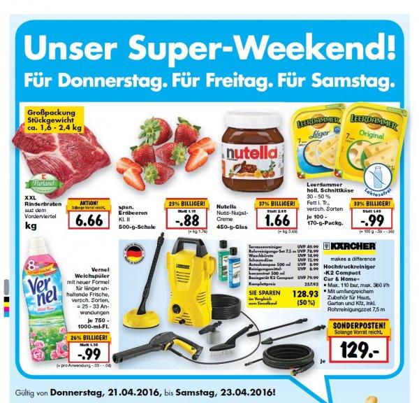 [Kaufland BW - Superweekend KW16] Vernel Weichspüler 3 Stück für 1,97€ (0,66€/Flasche)