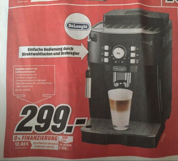 [MM Berlin-Neukölln] DeLonghi ECAM 21.116 Kaffeevollautomat