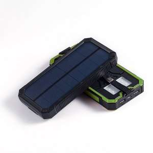 [Amazon Prime] 15000 mAh Solar Powerbank, Akku für 18,19€