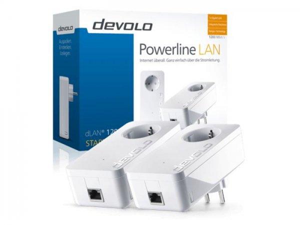 Devolo dLAN 1200+ Powerlan Adapter Starter Kit Warehause Deal: 82,64€