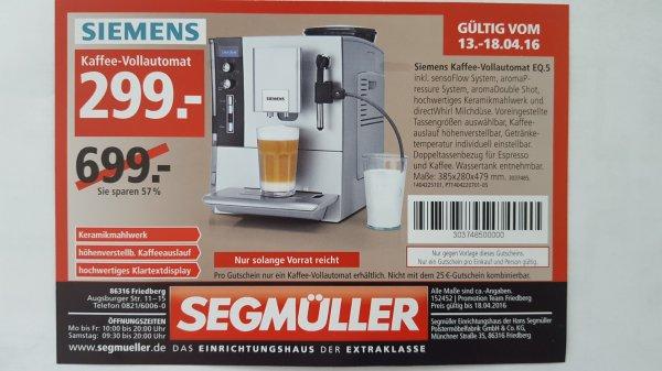 [Lokal] Augsburg / Friedberg Siemens Kaffee-Vollautomat EQ.5