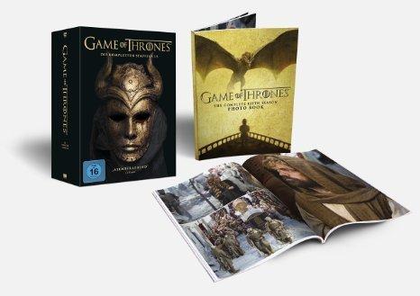 [Amazon] Game of Thrones Staffel 1-5 (Digipack + Fotobuch + Bonusdisc)  [Blu-ray] [Limited Edition] 99€ anstelle 129€