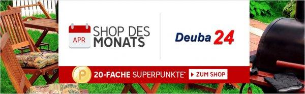 [ RAKUTEN ] - Shop des Monats April: Deuba24 erhalten Sie jetzt 20-fache Superpunkte*