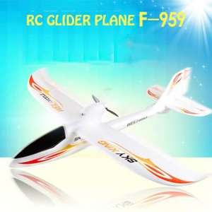 *Eu Lager* WLtoys F959 Sky King 2.4G 3 Channel RC Aircraft Wingspan RTF Airplane  -  EU PLUG  ORANGE