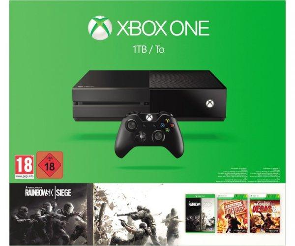 [lokal Ingolstadt] MICROSOFT Xbox One 1TB Rainbow Six Siege + Vegas 1 & 2 Bundle für 333€ + 30€ Media Markt Geschenkkarte