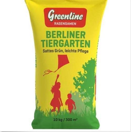 50% Rabatt (für 24,95€ anstatt 49,90€) auf 10kg Rasensamen Berliner Tiergarten