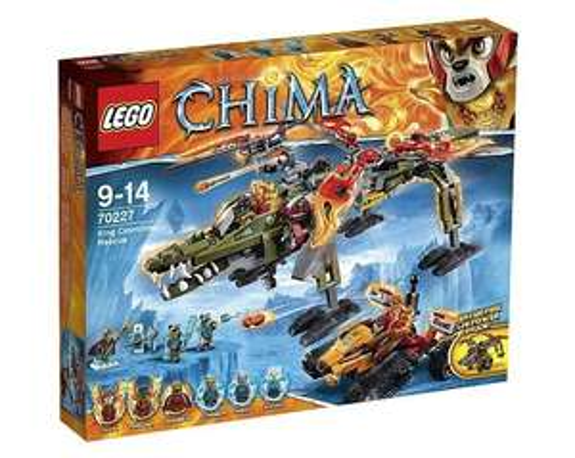 [ToyRUs] LEGO Legends of Chima - 70227 König Crominus' Rettung für 39,98€ bei Filialabholung statt 58€