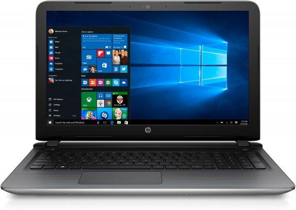 [Amazon]  HP Pavilion (15-ab109ng) 39,6 cm (15,6 Zoll/Full HD) Notebook (AMD A10-8780P APU der 6. Generation, 1 TB SSHD, 8 GB RAM, AMD Radeon (TM) R7 M360, Windows 10) silber