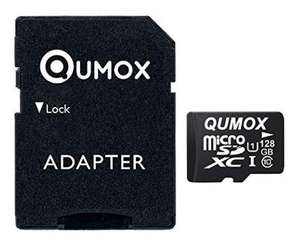 [amazon.de/marketplace] QUMOX Speicherkarte MicroSDXC 128GB UHS-I Grade 1 Class 10 & SD Adapter & gratis Lieferung in DE