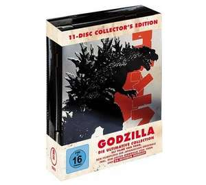 (Müller) Godzilla - Limited Collector's Edition (11x Blu-ray) für 59,99€