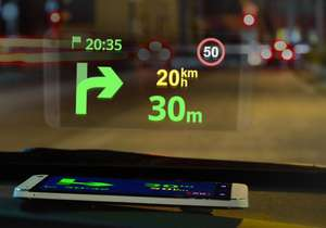 Sygic Navigation Head-up Display (HUD) & Dashcam ab sofort kostenlos