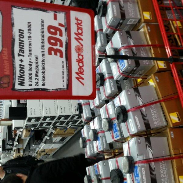 [Media Markt Berlin-Neukölln] Nikon D3300 mit Tamron 18-200 Spiegelreflex