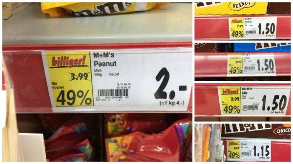 [LOKAL] Kaufland 49% auf M&Ms