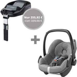 [Windeln.de] Maxi-Cosi Pebble + Family Fix (Isofix Halterung) - 255,92€