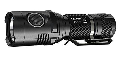 [BG] Taschenlampe Nitecore MH20 CREE XM-L2 U2 1000 Lumen, integr. Ladegerät, Akku 18650, nur 10,5 cm lang - mit Gutschein für 41,50 Euro + 7,88 Euro Steuern