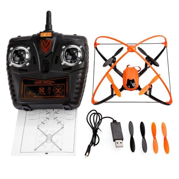 [Amazon Marketplace] Arshiner XT001A Quadcopter für Anfänger mit Schutzgitter und Headless Mode für 29,99€ statt 37,95€ - Ersparnis 20%