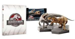 [Amazon.it] Jurassic Park / World Collection Limited Edition [4 Blu-rays] - Giftset inkl. 2x Dinosaurier Figuren für 53,41 EUR inkl. VSK