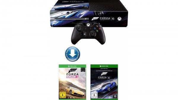 [Otto / Schwab] Xbox One 500GB + Forza Horizon 2 + Forza Motorsport 6 für 268,94€ (Bestandskunden) bzw. 242,44€ (Neukunden)
