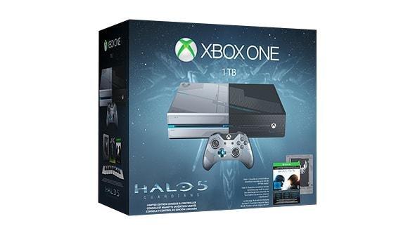 [microsoftstore.com] Xbox One 1TB Limited Edition Halo 5: Guardians Bundle für 329 €