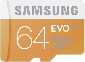 [Amazon] Samsung MicroSDXC 64GB EVO UHS-I Class 10 mit SD-Adapter für 15€