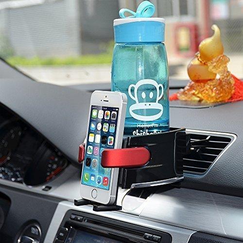 Amazon - 2 in 1 KFZ Handyhalterung + Getränkehalter für 10,50€ mit Prime
