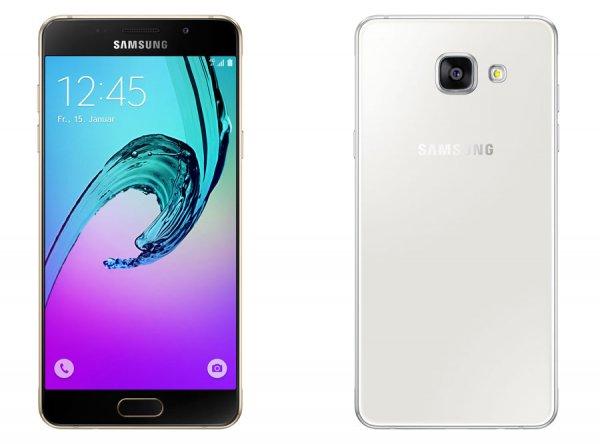 Samsung GALAXY A3 (2016) A310F Smartphone bei Cyberport für 239 Euro