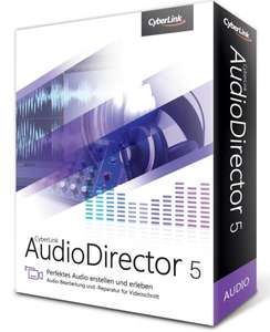 Cyberlink Audiodirector 5 Ultra für €39.99 bei 1of10.de