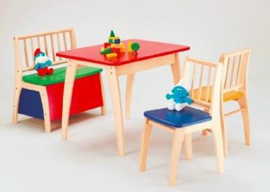 Wieder da: Geuther Kindersitzgruppe Bambino - Bunt für 132,85€ statt ca. 180€ bei [babymarkt]