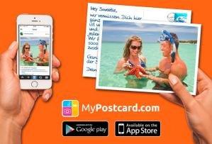 Gratis Postkarte mit Foto versenden
