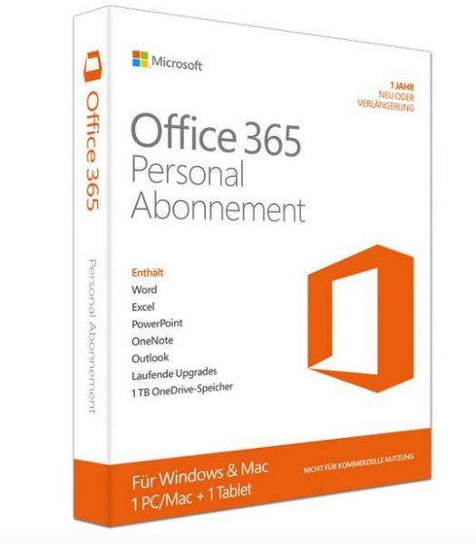 (Gravis) 2x Microsoft Office 365 Personal (1 Jahr) für 40,97€