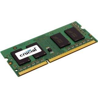 [Vibu Online + Amazon] Crucial SO-DIMM (1x 4GB, DDR3L-1600, CL11) für 14,47€ *** 8GB (DDR3L-1600, CL11) für 25,44€