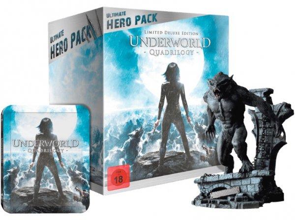 [Mediamarkt] Underworld 1-4 (Ultimate Hero Bluray Steelbook inklusive 23 cm Figur) für 29€ versandkostenfrei *** Spiderman Hero Pack ebenfalls für 29€
