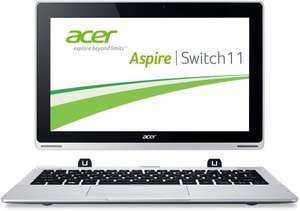 Acer Aspire Switch 11  Convertible Notebook  2GB RAM 32GB eMMC Win 8.1 @microsoft Store UK
