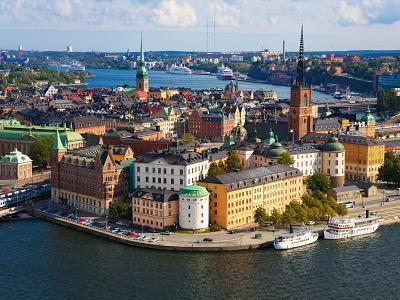 Wochenende (Fr.-So.) in Stockholm: Flug, Hostel, Bustransfer