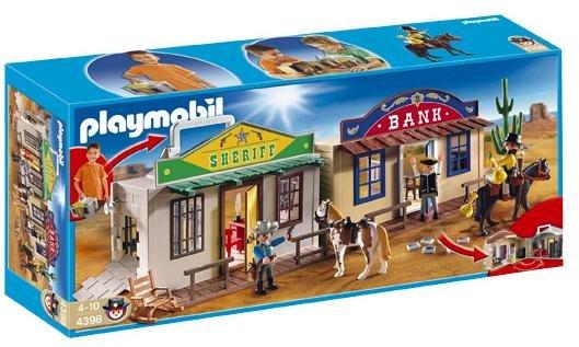 [real.de] Playmobil, 4398 Mitnehm-Western City wieder verfügbar für 19,99€ bei Filiallieferung statt 32€