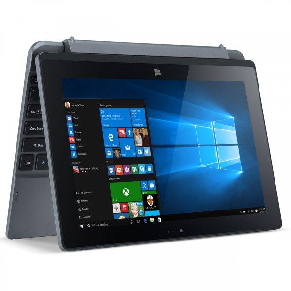 ACER One 10 S1002-17WT, Tablet mit 10.1 Zoll, 32 GB Speicher, 2 GB RAM, Atom Prozessor, Windows 10 Home, Gun Metal für 239€ @ Saturn (oder B-Ware Conrad 167€)