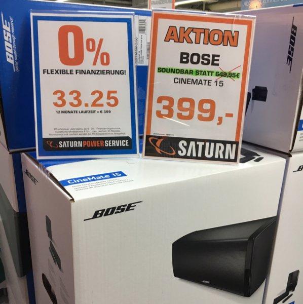 Saturn Mülheim- Bose Cinemate 15 für 399€