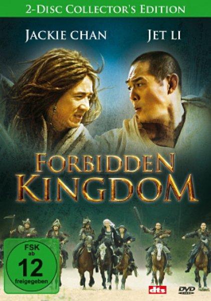 [Mediadealer] Jet Li-Jacki Chan/Forbidden Kingdom - 2-Disc Collector's Edition (DVD) für 2,98€ inc. Versand