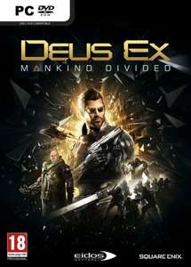 (Pre-Order) Deus Ex: Mankind Divided PC-Steam für 27,44€ @ CDKeys