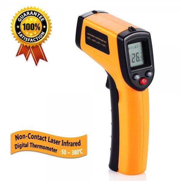 Amazon: GRDE® Infrarot Thermometer für 10,49€