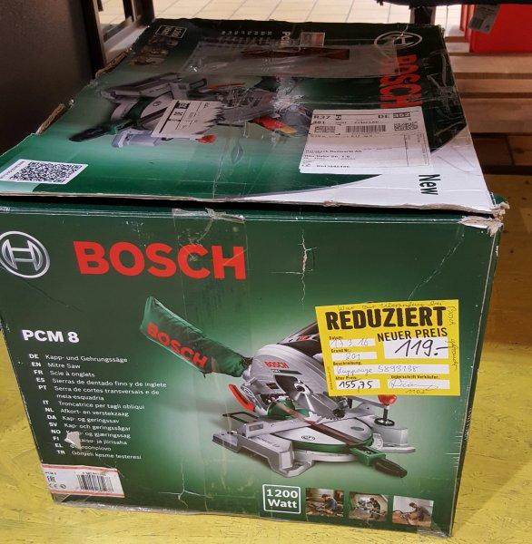 Bosch PCM 8  durch Tiefpreisgarantie Hornbach/Bauhaus.