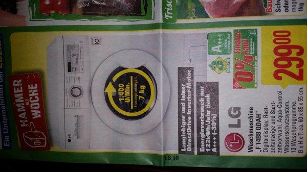 LG Waschmaschine, 7 kg, Inverter-Motor, lokal Marktkauf Löhne