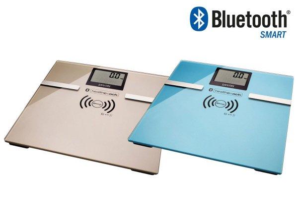 eBay: SANITAS Glas-Diagnosewaage SBF 70 mit Bluetooth in blau oder grau, inkl. Versand nur 20,99 Euro